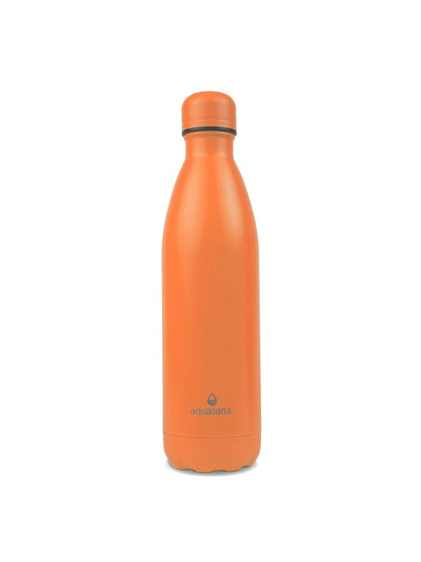 750ML STAINLESS STEEL INSULATED BOTTLE - ORANGE
